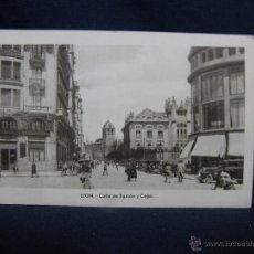 Postales: POSTAL 4 LEON CALLE DE RAMÓN Y CAJAL NO CIRCULADA M. ARRIBAS. Lote 49197482