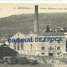 Postales: (PS-45272)POSTAL DE BARRUELO-CENTRAL ELECTRICA(LADO SUD). Lote 49217171