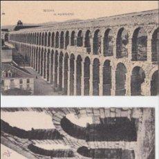 Postales: P-1026. LOTE DE 2 POSTALES FOTOGRAFICAS DE SEGOVIA.. Lote 49227440