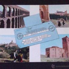 Postales: SEGOVIA-V31-Nº20-VARIOS ASPECTOS. Lote 49267140