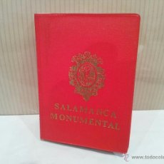 Postales: POSTALES SALAMANCA MONUMENTAL BUEN ESTADO FORMATO LIBRO VER FOTOS. Lote 49632295