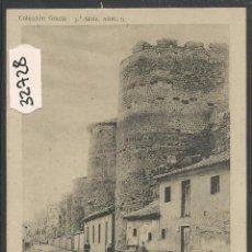 Postales: LEON - ANTIGUAS MURALLAS - REVERSO SIN DIVIDIR - THOMAS - (32728). Lote 49842419