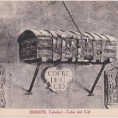 Postales: P- 1592. POSTAL DE BURGOS. CATEDRAL- COFRE DEL CID.. Lote 49979022