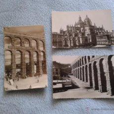 Postales: 3 VINTAGE POSTAL ,,, SEGOVIA. Lote 50064559