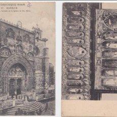 Postales: P- 1804. LOTE 2 POSTALES DE BURGOS.. Lote 50102468