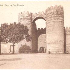 Postales: AVILA ARCO DE SAN VICENTE. Lote 50973719