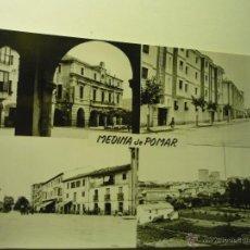 Postales: POSTAL ESCRITA.-VARIAS VISTAS MEDINA DE POMAR. Lote 51059832