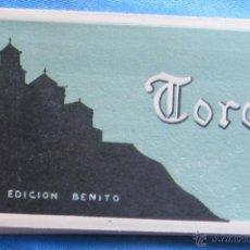 Postales: BLOCK CON 20 POSTALES. TORO, ZAMORA. EDICIÓN BENITO. L. ROISIN FOT.. Lote 51119408
