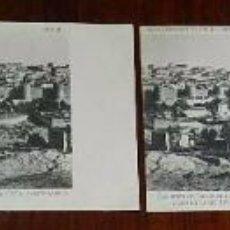 Postales: VISTA PANORAMICA COMPLETA DE AVILA, 4 POSTALES, CLICHE REDONDO DE ZUÑIGA, SERIE 2 NUMS. 1, 2, 3 Y 4,. Lote 51416854