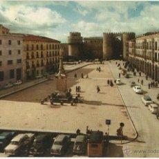Cartes Postales: AVILA. PLAZA STA TERESA, 1961. . Lote 51529532