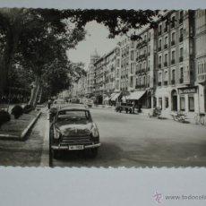 Postales: ANTIGUA FOTO POSTAL DE AVENIDA GENERAL FRANCO DE VALLADOLID. SIN CIRCULAR. Lote 51584323