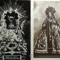 Postales: DOS POSTALES ANTIGUAS DE SANTA TERESA DE JESUS AVILA 1932 - 1941 CIRCULADAS A MURCIA. Lote 51620547