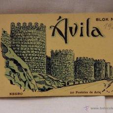 Postales: BLOK Nº 2. ÁVILA. 20 POSTALES DE ARTE. L. ROISIN.. Lote 51636881