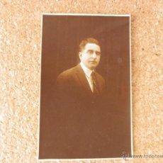 Postales: FOTO POSTAL CABALLERO AÑOS 20 CIRCULADA ARGENTINA CORDOBA . Lote 51705833
