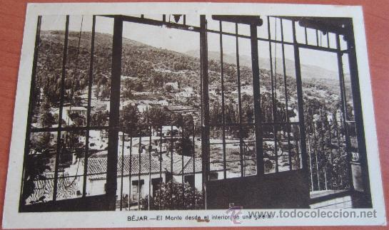 POSTAL BEJAR ( SALAMANCA ) (Postales - España - Castilla y León Antigua (hasta 1939))