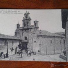 Postales: ANTIGUA POSTAL SANTUARIO SANTA CASILDA BRIVIESCA BURGOS. Lote 51797293