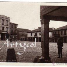 Postales: BONITA Y RARA POSTAL - LERMA - BURGOS - PLAZA DEL PAN - AMBIENTADA . Lote 51886883