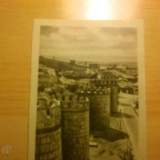 Postales: AVILA - MURALLAS - 16 HELIOTIPIA ARTISTICA ESPAÑOLA. Lote 52023601
