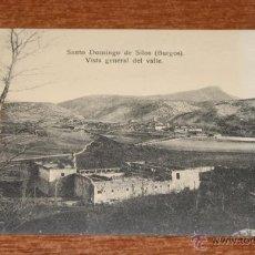 Postales: SANTO DOMINGO DE SILOS (BURGOS). VISTA GENERAL DEL VALLE. FOT. A. ANDRÉS. SIN CIRCULAR. . Lote 52481367