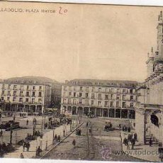 Cartoline: VALLADOLID. PLAZA MAYOR L J. ESCRITA. SIN CIRCULAR.. Lote 52485577