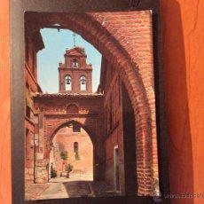 Postales: TORDESILLAS, ENTRADA AL MONASTERIO DE SANTA CLARA.. Lote 52571626