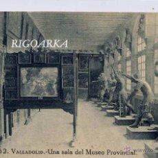 Postais: VALLADOLID.- UNA SALA DEL MUSEO PROVINCIAL. Lote 52705338