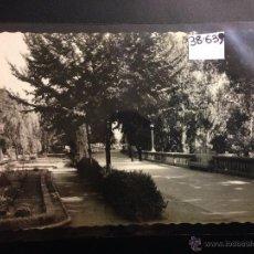 Postales: LEON - 163 - JARDINES DE LA CONDESA DE SAGASTA - ED· ARRIBAS - (38639). Lote 52803541