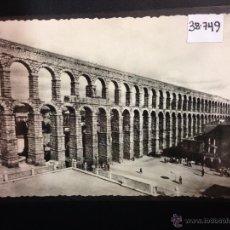 Postales: SEGOVIA - 40 - EL ACUEDUCTO - HELIOTIPIA ARTISTICA ESPAÑOLA - (38749). Lote 52843766