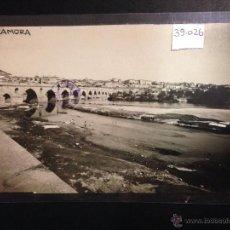 Postales: ZAMORA - VISTA GENERAL - LAVANDERAS - FOTOGRAFICA SELLO EN SECO ROISIN - (39026). Lote 52978048