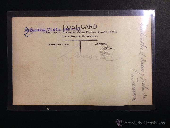 Postales: ZAMORA - VISTA GENERAL - LAVANDERAS - FOTOGRAFICA SELLO EN SECO ROISIN - (39026) - Foto 2 - 52978048