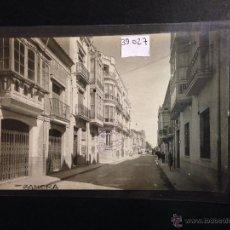 Postales: ZAMORA - CALLE DE SANTA CLARA - FOTOGRAFICA SELLO EN SECO ROISIN - (39027). Lote 52978065