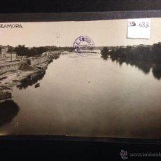 Postales: ZAMORA - RONDA DE CIRCUNVALACION - RIO DUERO - FOTOGRAFICA SELLO EN SECO ROISIN - (39033). Lote 52978180