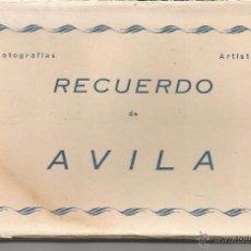 Postales: ÁVILA - LIBRITO DE 10 POSTALES - ED. ARRIBAS. Lote 53121086