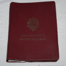 Postales: 20 POSTALES VINTAGE PRESENTADAS EN CARPETA, SALAMANCA MONUMENTAL, EDICION CERVANTES. Lote 53212527