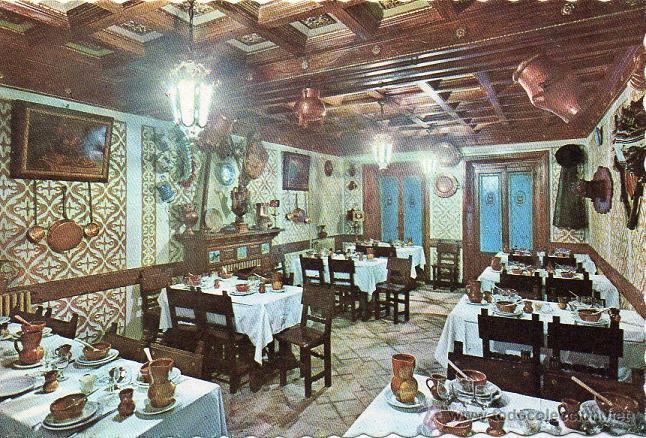 segovia - 257 restaurante duque - comedor pl - Comprar Postales de ...
