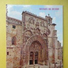 Postales: ARANDA DE DUERO. FACHADA DE LA IGLESIA DE SANTA MARÍA.. Lote 53765356