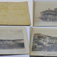Postales: ANTIGUO ALBUM DE RECUERDOS ARTÍSTICOS E HISTÓRICOS DE LA PROVINCIA DE VALLADOLID.- FOTOS DE GILARDI.. Lote 53906871