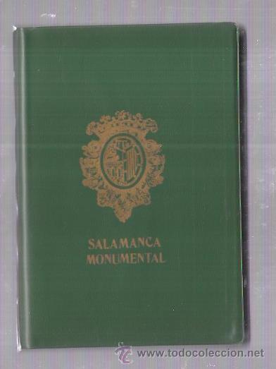 BLOCK DE 20 POSTALES. SALAMANCA MONUMENTAL. (Postales - España - Castilla y León Moderna (desde 1940))