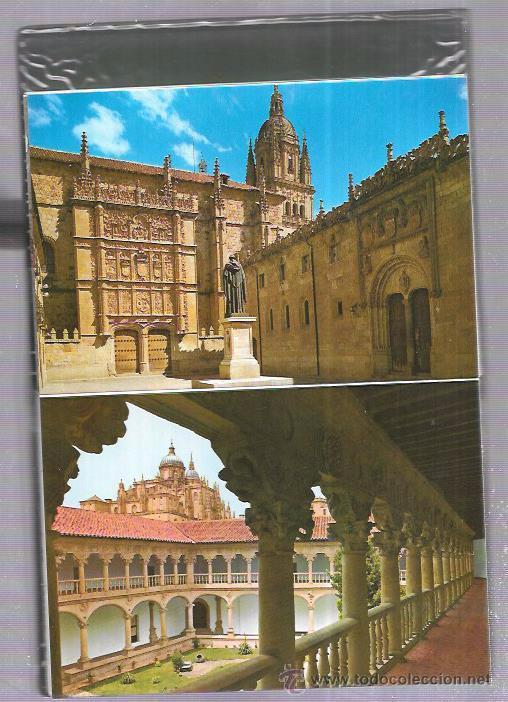 Postales: BLOCK DE 20 POSTALES. SALAMANCA MONUMENTAL. - Foto 3 - 53947782