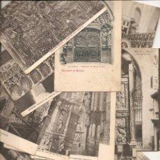 Cartes Postales: BURGOS. 19 POSTALES ANTIGUAS. Lote 53976549