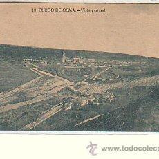 Postales: BURGO DE OSMA (SORIA).- VISTA GENERAL. Lote 54011071