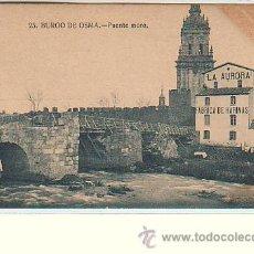 Postales: BURGO DE OSMA (SORIA).- PUENTE MORO. Lote 54011159