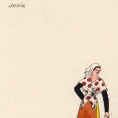 Postkarten - soria. traje regional. as - 54268093