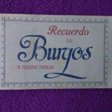 Postales: TACO 30 POSTALES DE RECUERDO DE BURGOS.DE HAUSER Y MANET.. Lote 54447521