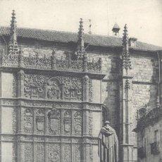 Postales: SALAMANCA. FACHADA DE LA UNIVERSIDAD. POSTAL BLANCO Y NEGRO, SIN CIRCULAR. C. 1930. . Lote 54787904