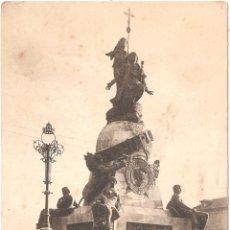 Postales: VALLADOLID MONUMENTO A CRISTOBAL COLON. Lote 54834334