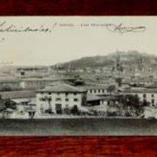 Postales: POSTAL TRIPLE DE BURGOS, COLECCION GARCIA - VISTA PANORAMICA, ESCRITA EN 1909, NO CIRCULADA.. Lote 54893846