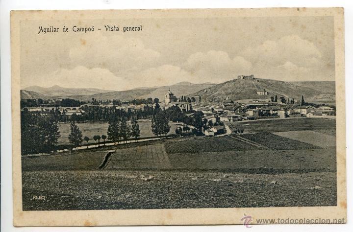 AGUILAR DE CAMPOO. VISTA GENERAL. EDICIONES ALFREDO VARAS (Postales - España - Castilla y León Antigua (hasta 1939))