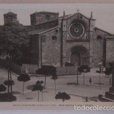 Postales: POSTAL AVILA - IGLESIA DE SAN PEDRO Y MONUMENTO A SANTA TERESA - ED L. ROISIN. Lote 55139553