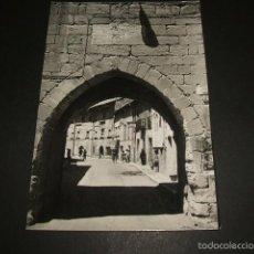 Postales: AGUILAR DE CAMPOO PALENCIA ARCO DE ENTRADA. Lote 55389302